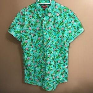 Men's Hawaiian Button Down Shirt